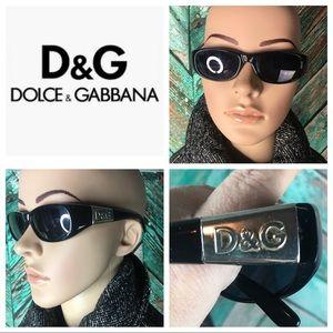 Authentic Dolce & Gabbana Black Sunglasses #2002